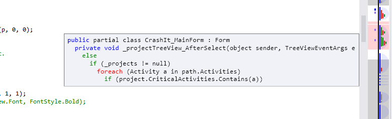 StructureMargin tooltip running in Visual Studio 2012 with the Light theme.